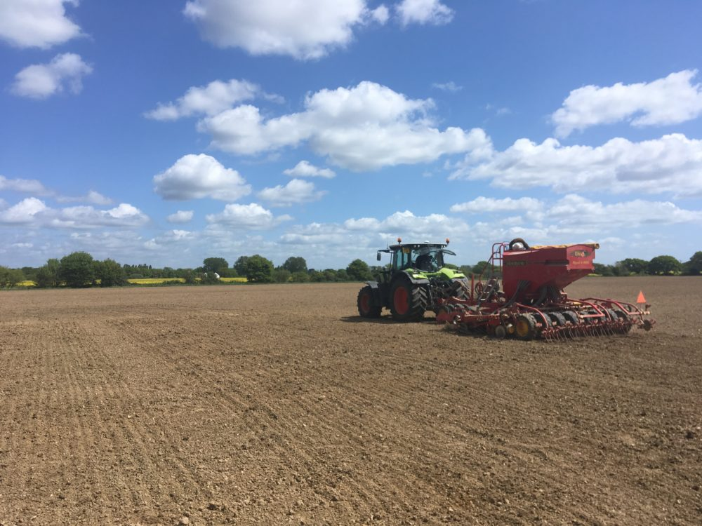 Drilling trials Chichester on 10-05-18